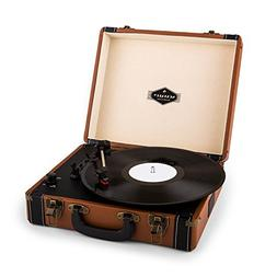 auna Jerry Lee  Record Player  Portable Suitcase  Phonograph