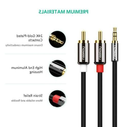 UGREEN 3.5mm to 2RCA Audio Auxiliary Splitter Cable