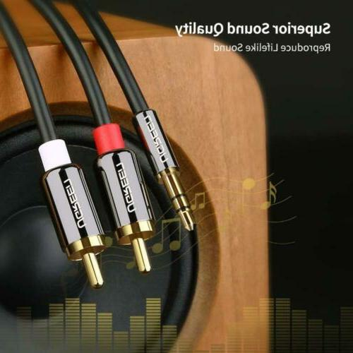 UGREEN Audio Auxiliary Splitter Cable