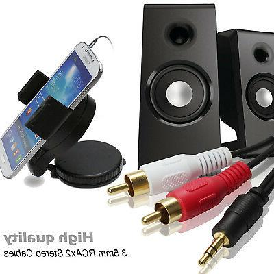 3pcs RCA Male Home System