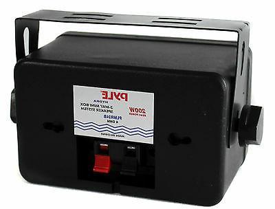 4) Pyle PLMR24B 200W Speakers PT260A Home Digital Receiver