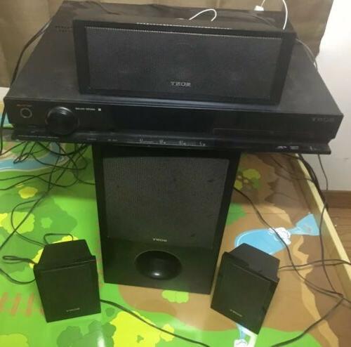 SONY 5.1 HOME STEREO SURROUND & DVD PLAYER HDMI DAV-DZ170