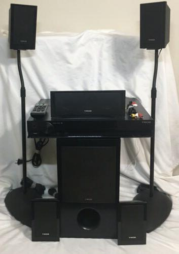 5 1 home theater stereo surround system