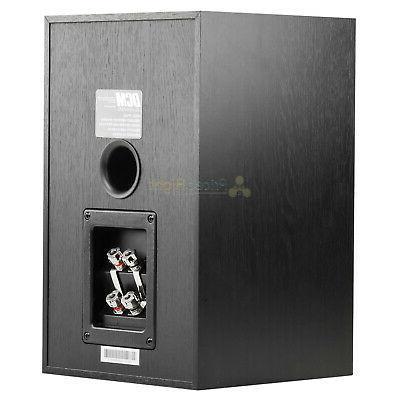 "6.5"" Bookshelf Theater Speakers 100W MTX Audio Pack"