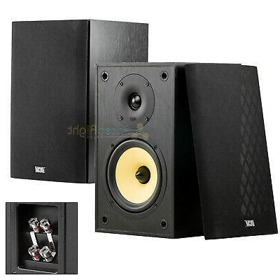 6 5 bookshelf home theater speakers 100w