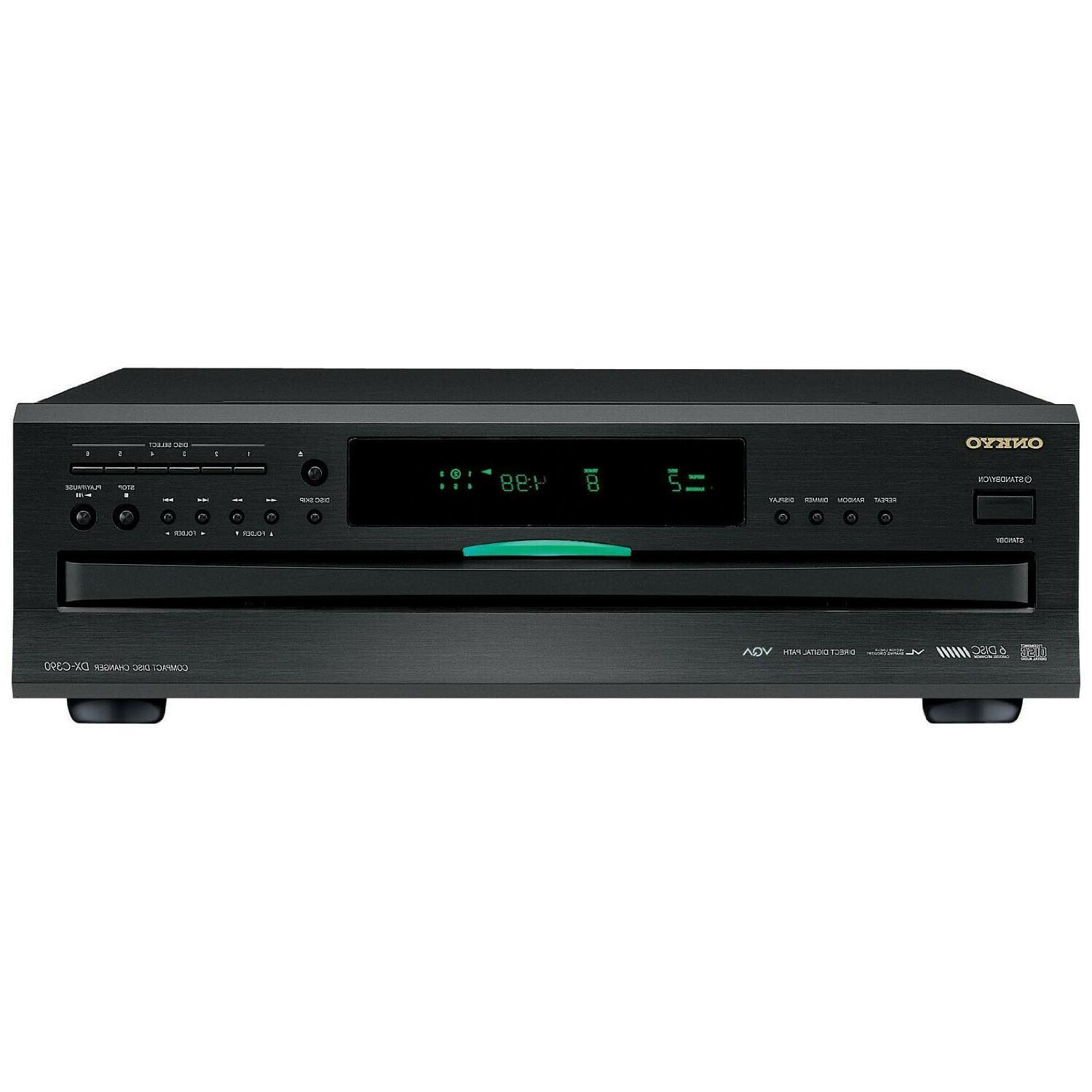 6 disc home audio carousel cd changer