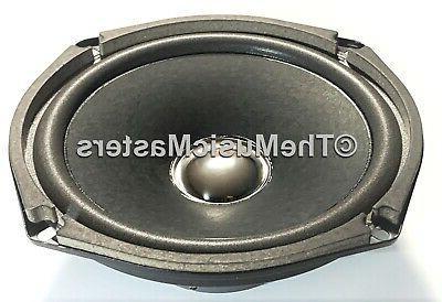 "Pair 6"" WOOFER Speaker Cabinet Enclosure Stereo"