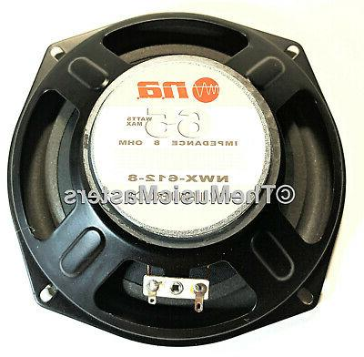 """Pair 6"""" Home WOOFER Cabinet Enclosure Stereo"""