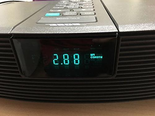 Bose Wave Radio - Clock / 2 Alarms Am/fm - Graphite Gray