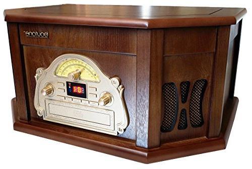 Boytone Audio System - Mahogany