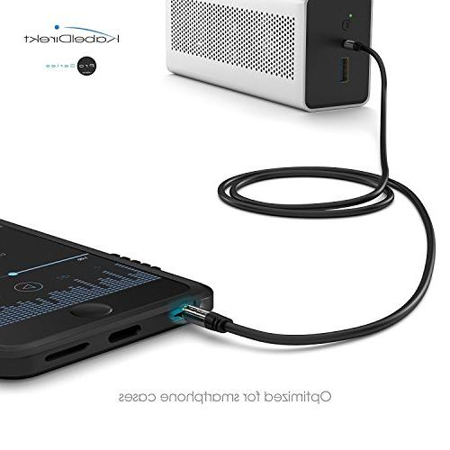 KabelDirekt Series feet 3.5mm Audio Cord, 24k to Male Smartphone, any 3.5mm