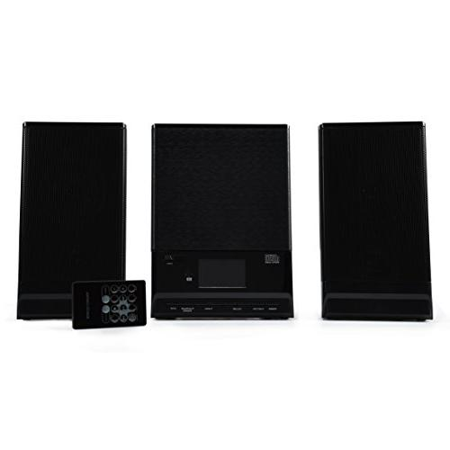 ONN Audio Compact Home System Edition Vertical-loading with Dynamic ONA-015
