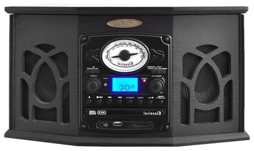 Pyle Retro With Bluetooth, Cassette CD Player, Reader, SD Card and - MP3 with LCD