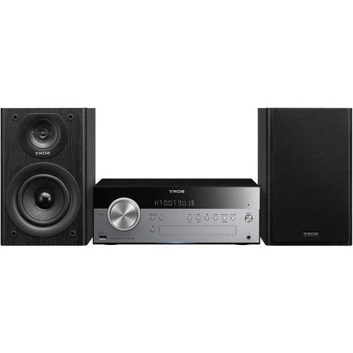 Sony Hi-fi Shelf System with Cd Bluetooth, USB Input, 2-Way, Speakers, 30 Station and Play Timers, Bass Boost Bass/treble, Auxiliary Remote Control,