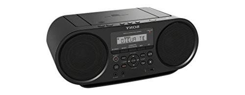 Sony Bluetooth Cd Player Bass Reflex Stereo Sound 6ft Kubicle Bundle