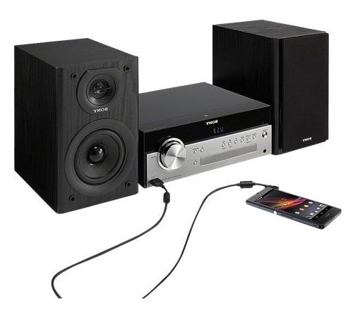 Sony Micro System Wireless NFC Bluetooth, MP3 CD AM/FM 30 Play & Timer, Bass Boost, AUX & Wireless Remote +