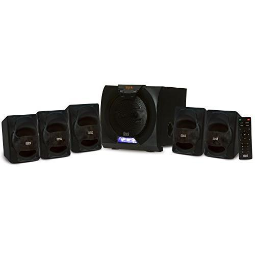 Acoustic Audio AA5230 Home Theater 5.1 Speaker System with and Display