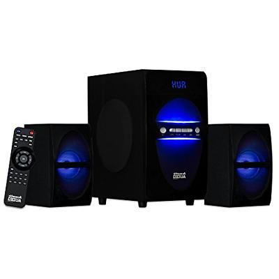 Acoustic LED Bluetooth 2.1-Channel Home Theater System