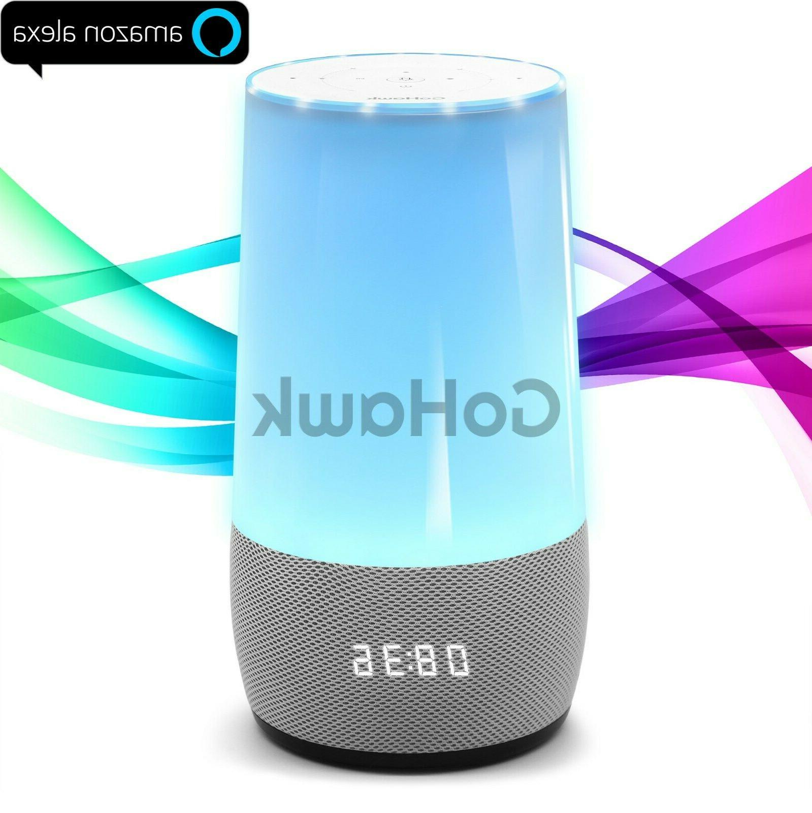 alexa wifi bluetooth smart loud speaker home