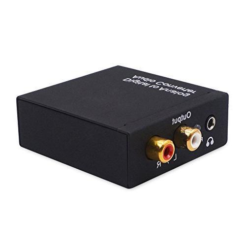 analog converter dac spdif toslink