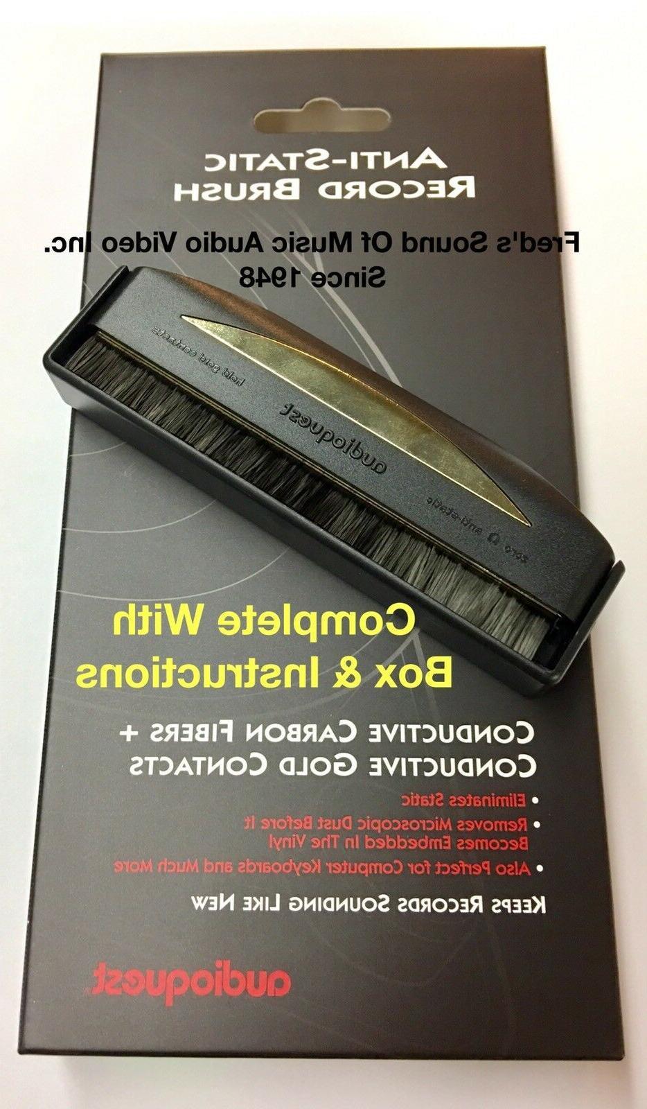 Audioquest Anti-Static Record Vinyl Cleaning Brush
