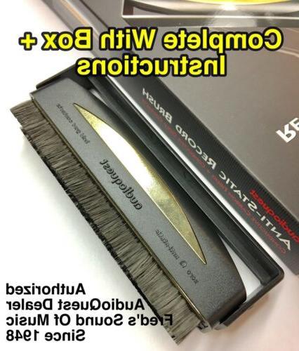 anti static carbon fiber record cleaner lp