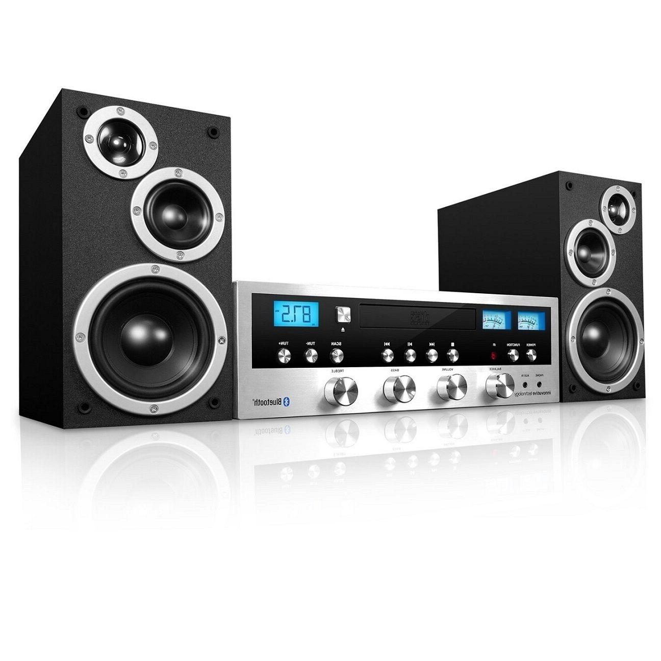 Audio System Bluetooth Stereo System Cabinet CD Aux