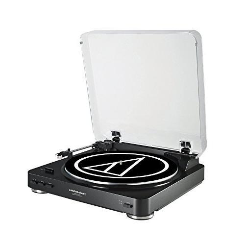 audio technica atlp60bk usb turntable