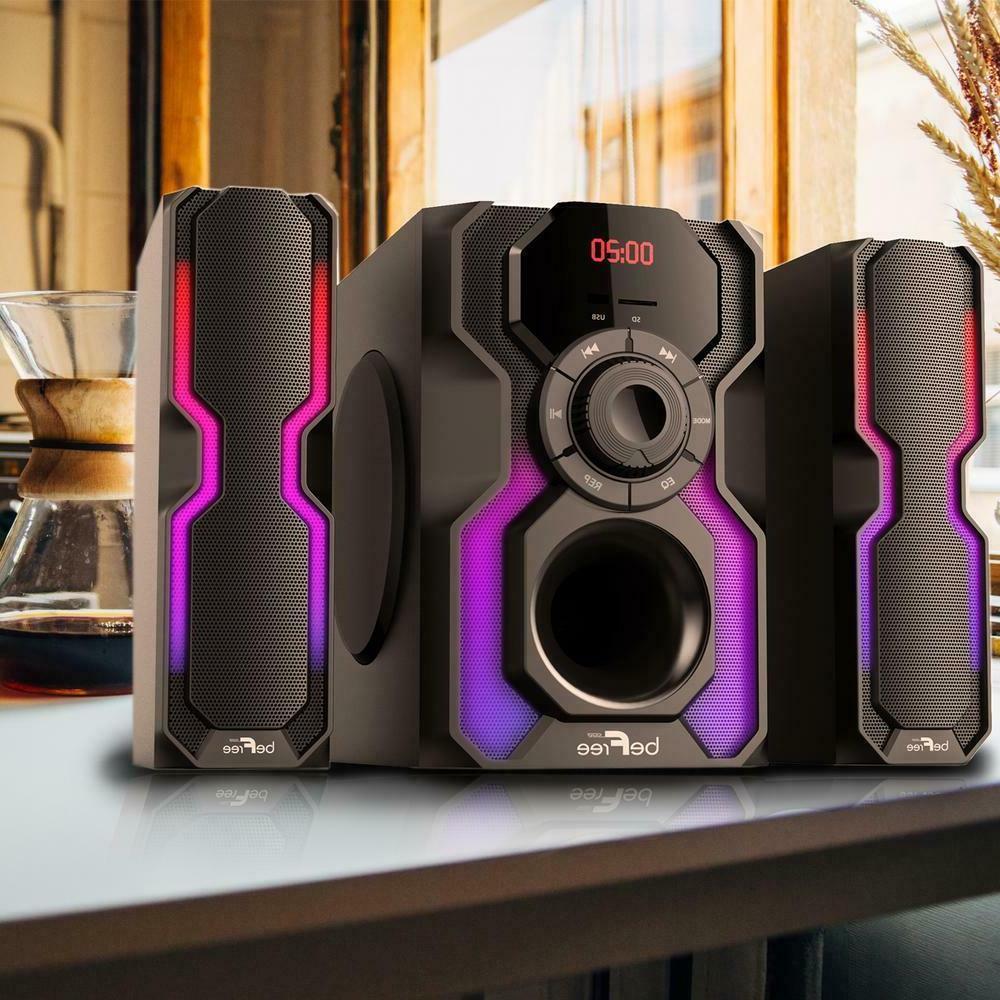 Home Theater Speaker Shelf Stereo System Bluetooth Multimedi