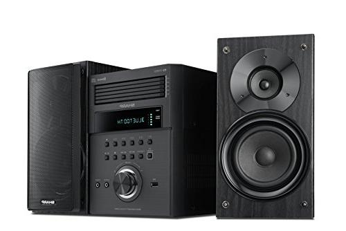 Sharp XL-BH250 Micro Executive System Bluetooth, USB Port Playback, AM/FM, in Digital Players