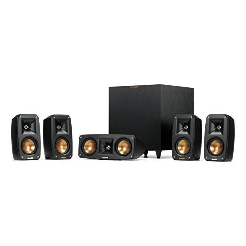 Klipsch Black Reference Theater Pack Sound System