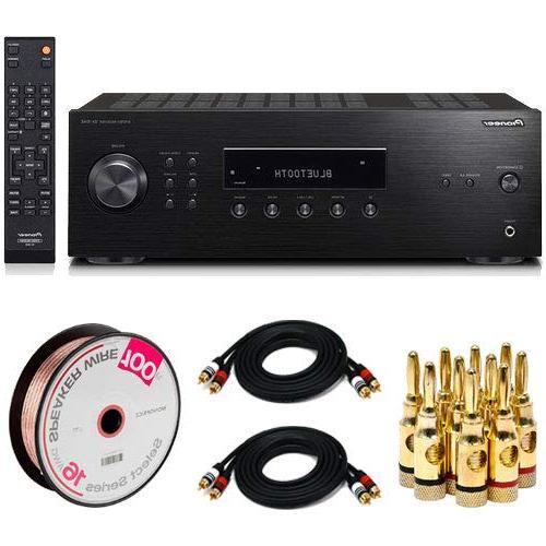 bluetooth audio component receiver black