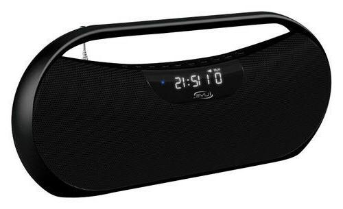 bluetooth boombox nib fm radio rechargable