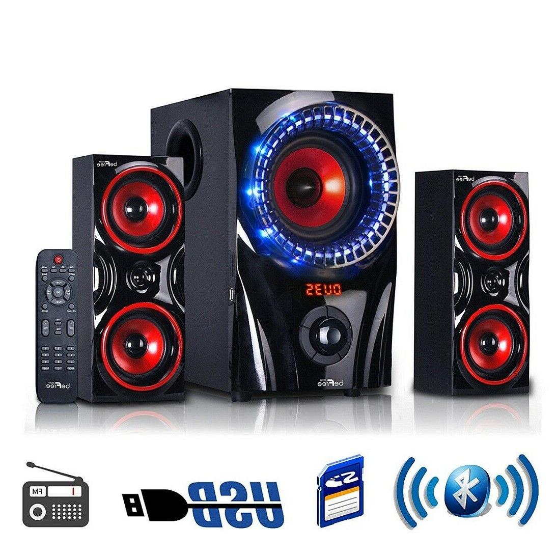Bluetooth Audio Stereo Bass Gaming PC Computer New