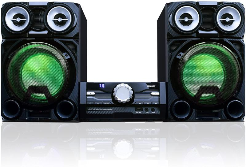 Bluetooth Wireless Stereo Audio Sound System Mini Component