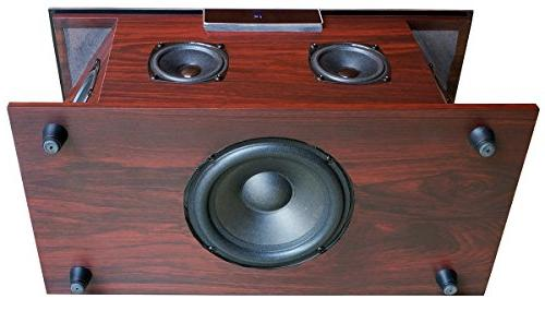 "Boytone Bluetooth Premium Home Stereo Speaker, Super Bass, Sound, 6.5"" Subwoofer 3"" Midrange/Tweeter, FM Slot"