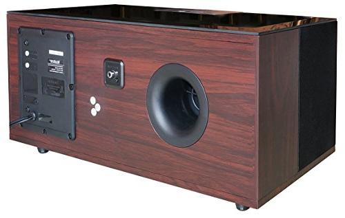 "Boytone BT-66B, Bluetooth HiFi Stereo System, Speaker, Super Bass, Sound, 6.5"" Subwoofer Plus 3"" X 4 FM Radio, USB, Slot"