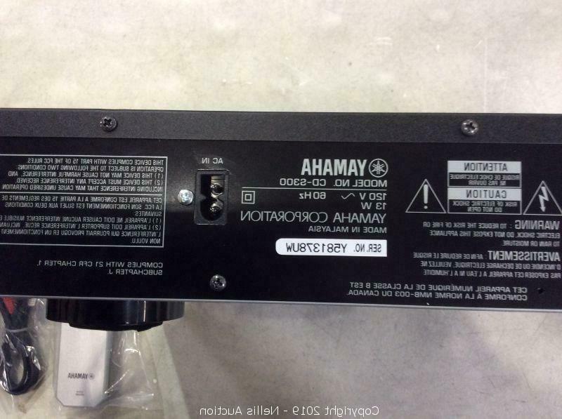 Yamaha Compact Sound CD Player
