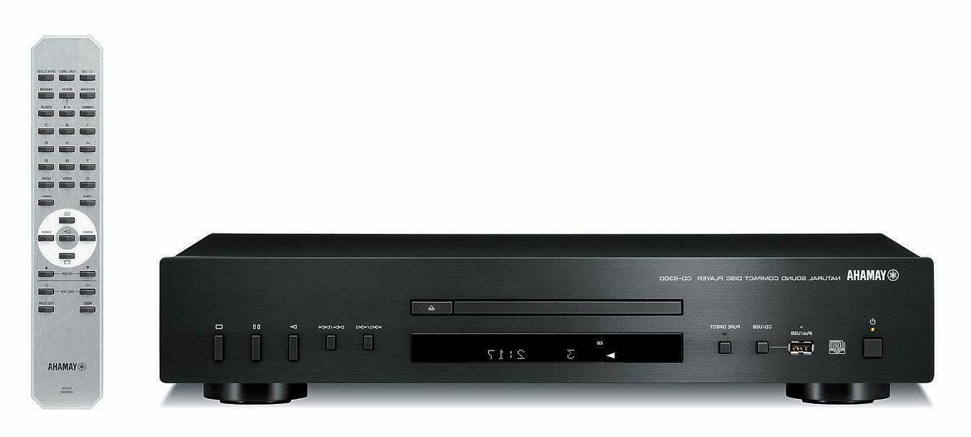 cd s300bl compact natural sound cd player
