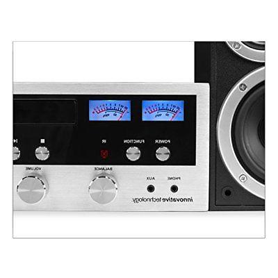 CD Stereo System Bluetooth Home Innovative MP3 FM