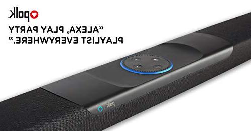 Polk Audio Command Alexa Voice Control 4K TV for Home Theater