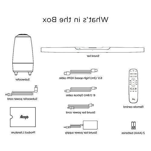Polk Audio Bar Alexa 4K TV Compatible for Your Home