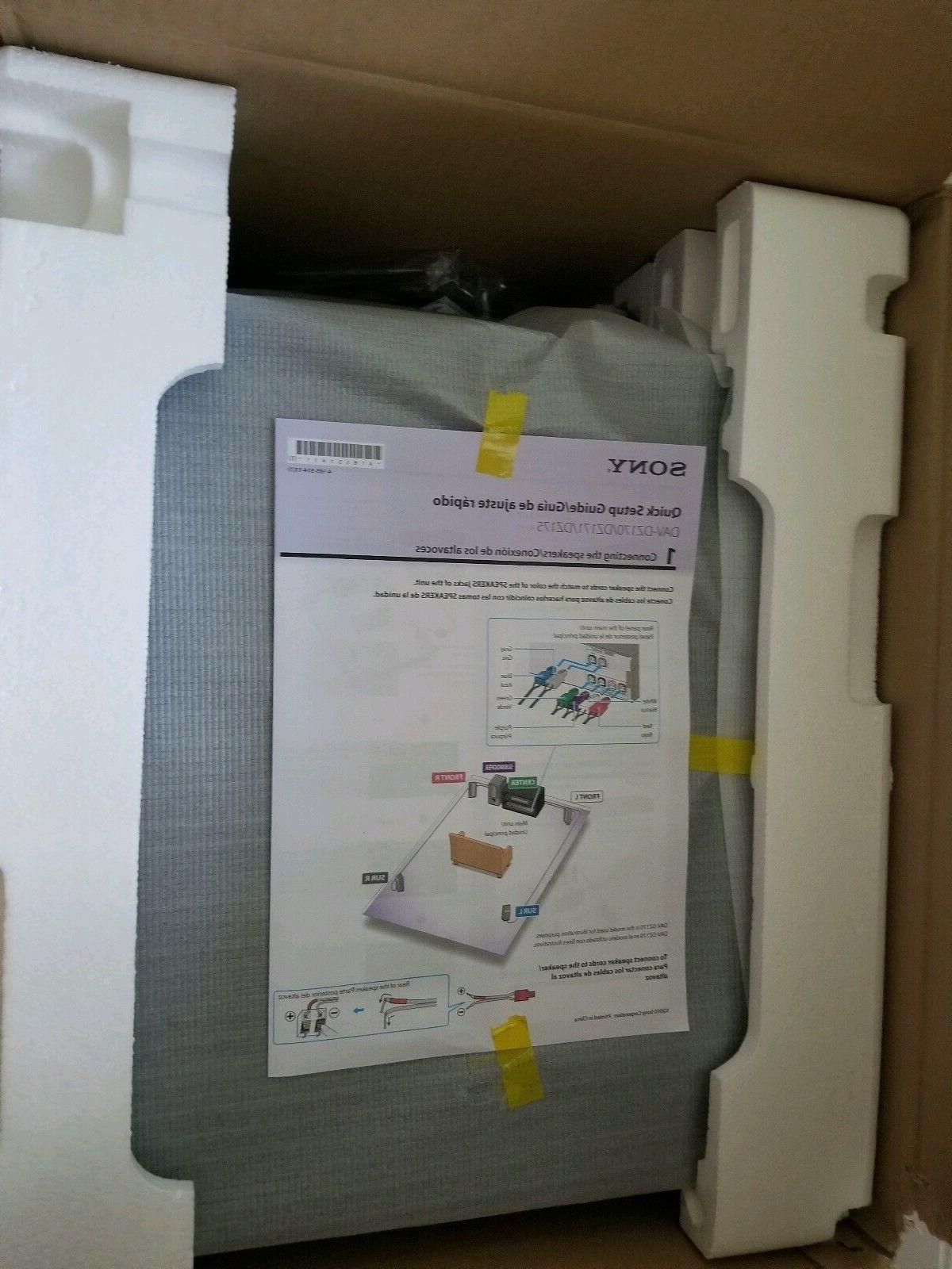 Sony DVD System DAV-DZ170 NEW