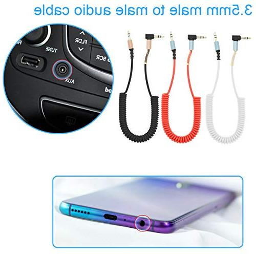 TOOGOO Aluminum Alloy to Cable AUX car Cable