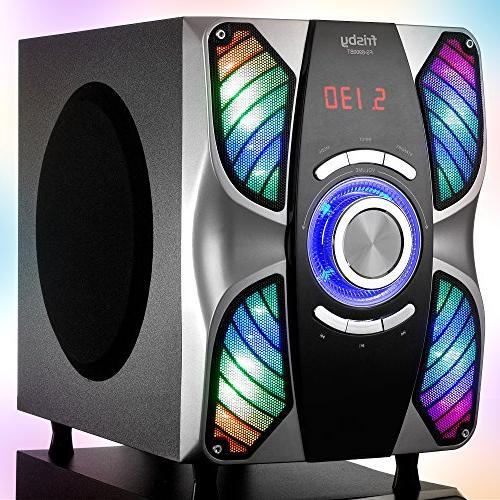 Frisby FS-6900BT_Silver 5.1 Surround Sound Bluetooth for TV/Smartphones/Tablets/Laptops/Desktops, Silver