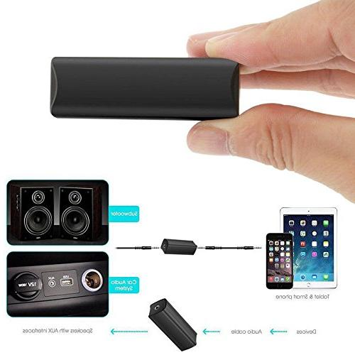 TOOGOO Ground Isolator Home 3.5mm Audio System Stereo