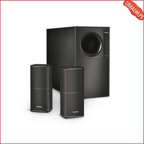 Home Accessories Acoustimass Stereo Speaker System Black