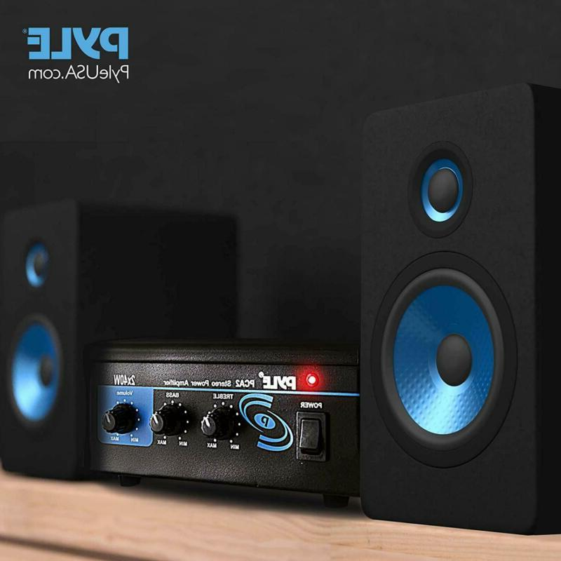 Home System - 2X40W Mini Dual Stereo Receive
