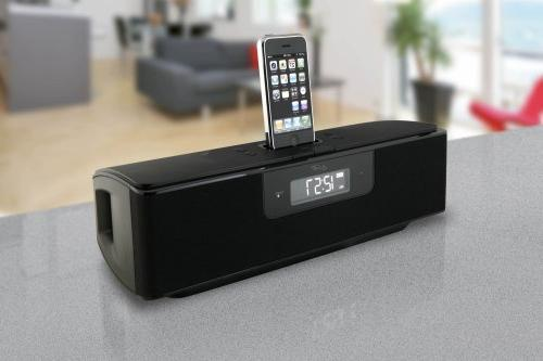 iLive 2.1-Channel Home System Recharging iPhone