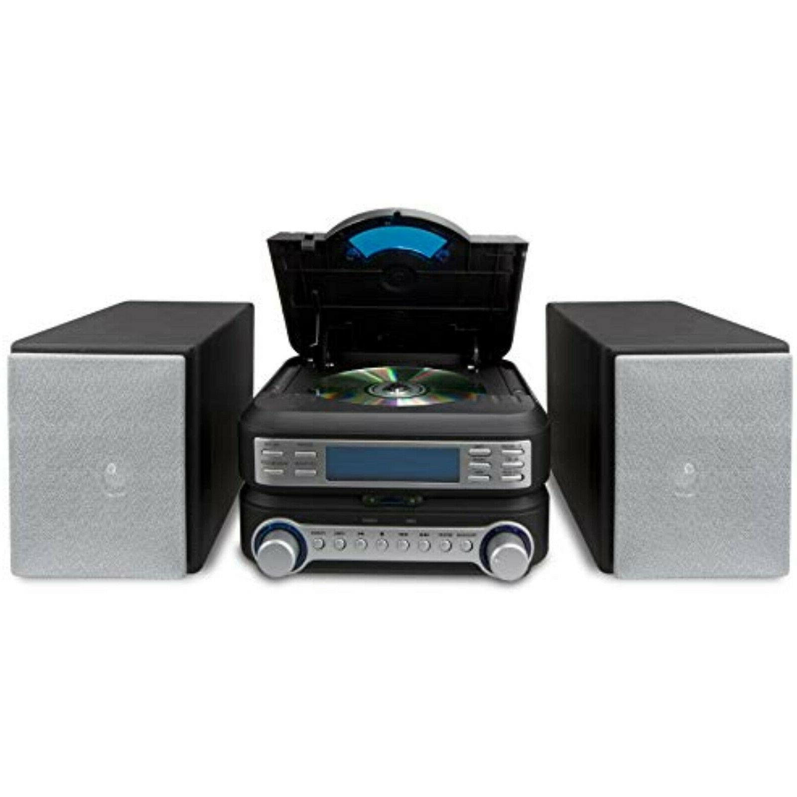 Home System FM Radio Shelf Speakers Remote